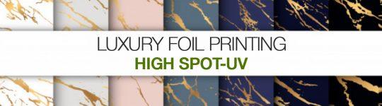 SCODIX spot-uv and foil printing